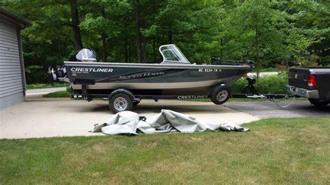 Crestliner Boats For Sale by 2013 Crestliner 1850 Superhawk Boats For Sale In Michigan