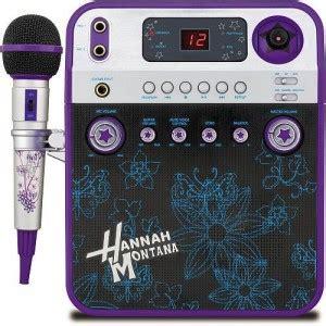 gifts for karaoke fans hannah montana karaoke machine cute gift a is