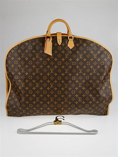 louis vuitton monogram canvas garment cover bag yoogis