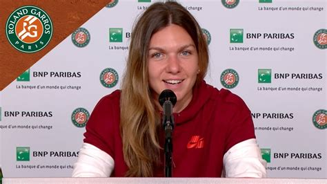 Simona Halep press conference - Roland-Garros - The 2018 French Open official site