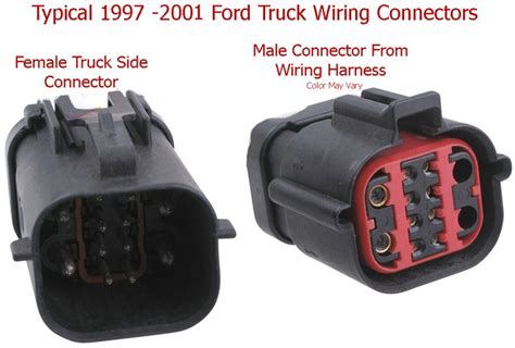 Ford Duty 7 Way Trailer Wiring by Installing A 7 Way Trailer Connector On A 2004 Ford F 250