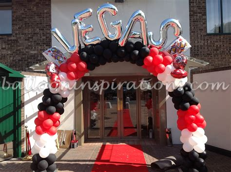 Vegas Styled Prom Party Decorations For London, Essex Uk