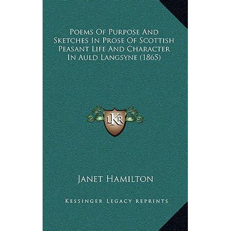 poems  purpose  sketches  prose  scottish peasant