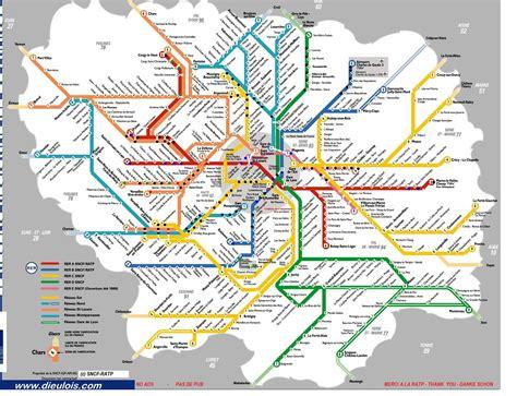 Carte Metro Rer by Plan Rer Plan Rer Metro Rer A Rer B Rer C Rer
