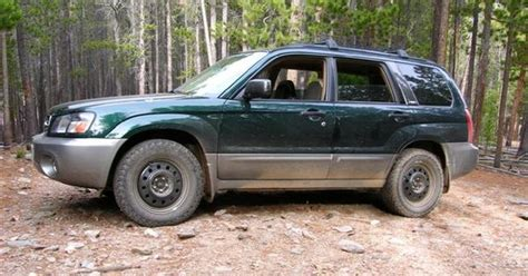 subaru forester rally wheels lifted subaru forester with steel wheels car just for