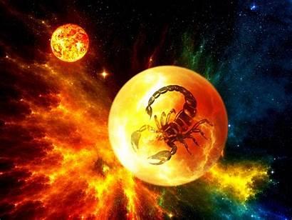 Scorpio Zodiac Sci Fi Space Nebula Scorpions