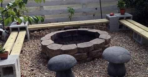 easy    bench  firepit