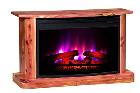 Amish Made Electric Fireplaces Amish Eleganza Electric