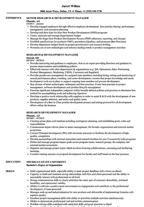 R D Resume Template research and development resume vvengelbert nl