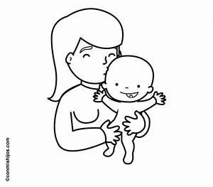 Babybilder Zum Ausmalen : kostenlose malvorlage menschen und ihr zuhause mama mit baby zum ausmalen ~ Markanthonyermac.com Haus und Dekorationen