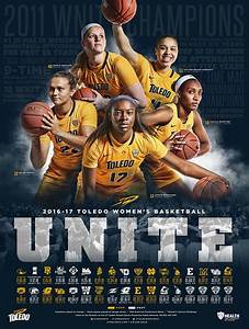2016-17 Toledo Rockets Women's Basketball Schedule Poster ...