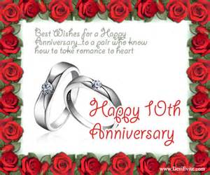 tenth wedding anniversary create 10th wedding anniversary ecards send