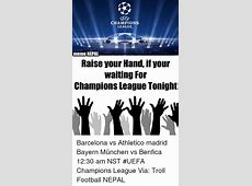 Funny Uefa Champions League Memes of 2016 on SIZZLE
