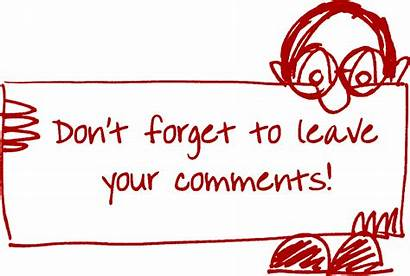 Comment Commenting Leave Structured