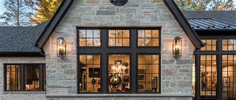 luxury country natural stone veneer dream home facade