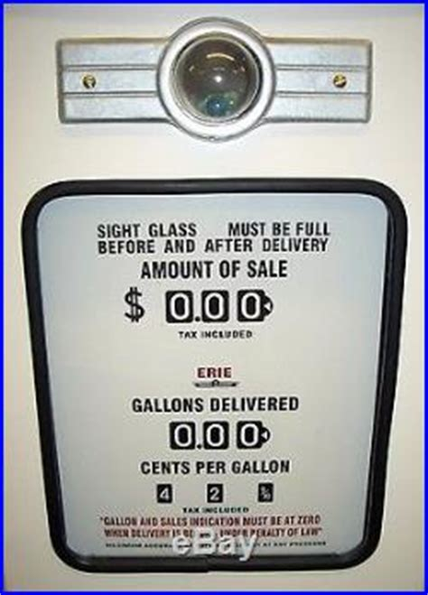 texaco fire chief reproduction replica gas pump