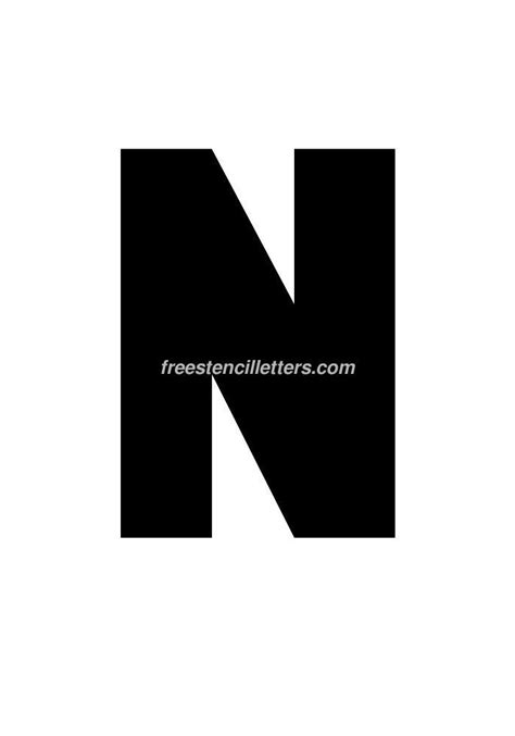 11 letter n on vimeo print 11 inch n letter stencil free stencil letters 69434