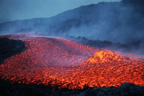 lava flow mount etna