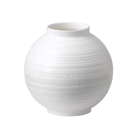 White Vase by Wedgwood Intaglio Giftware White Vase 15cm Wedgwood