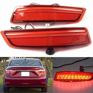 Find Hot 1 Set Light Guide Rear Fog Lamp Rear Bumper Light