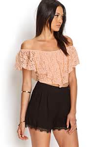 Lace Crop Top Forever 21
