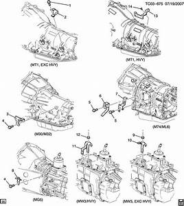 2001 Chevrolet Silverado 2500 Bracket  Fuel Line  Bracket