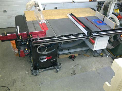 sawstop jessem slider mods canadian woodworking
