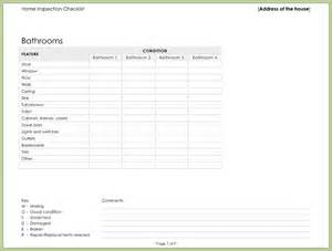 Excel Template For Wedding Guest List Free Home Inspection Checklist Sheet