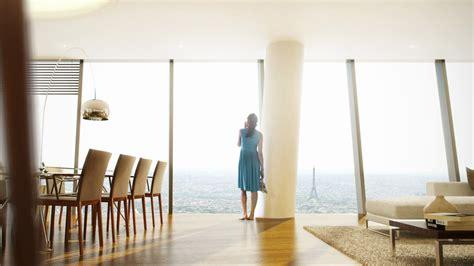 bureau logement tours appartement avec vue tour eiffel dans la tour hermitage