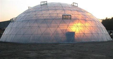 Geodesic dome greenhouse   Geodesic Domes   Pinterest