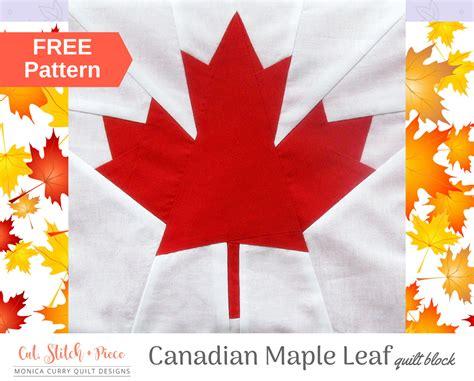 canadian maple leaf quilt block craftsy