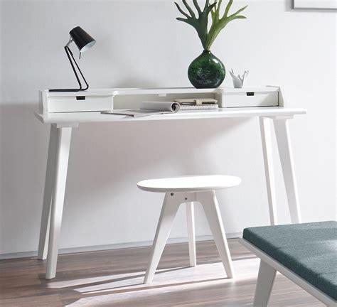 Moderner Sekretär Schreibtisch by Moderner Sekret 228 R Und Schreibtisch Im Retrostil Buche Wei 223