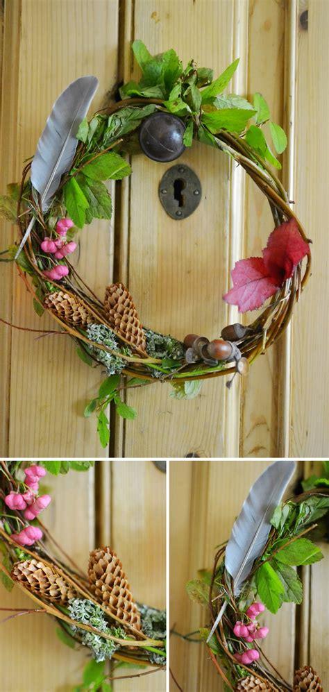 15minute Make Autumn Wreath Diy  Decorator's Notebook