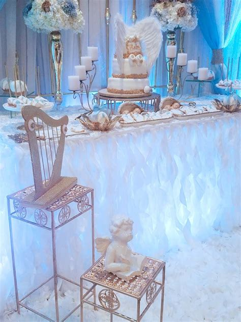 heaven themed baby shower baby boy angel shower baby shower ideas themes games