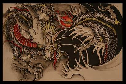 Dragon Chinese Tattoo Japanese Designs Tattoos Wallpapers