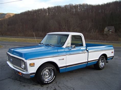 Chevrolet C 10 by 72 Chevrolet C10 Bed 350 Automatic