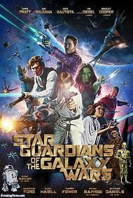 Guardians of the Galaxy Movie Stars