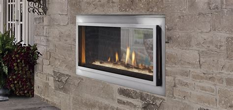 see through gas fireplace mezzanine see through gas outdoor fireplace