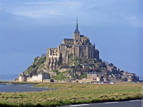 world travel places mont michel from