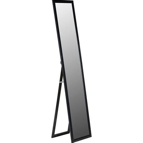 staande spiegel karwei passpiegel zwart kwantum