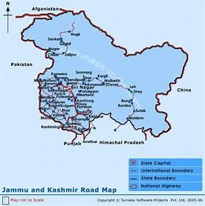 Kashmir Road Map | My Blog