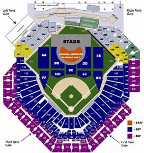 Citizens Bank Arena Seating Chart Citizens Bank Park Tickets In Philadelphia Pennsylvania