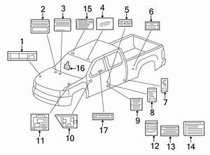 Chevrolet Silverado 3500 Hd Engine Decal  Fuse Block