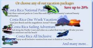 Vacation package travelquazcom for Costa rica honeymoon package