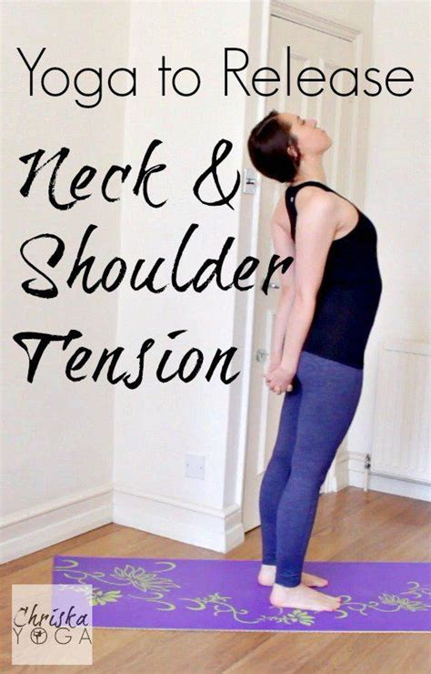chriskayoga to release neck shoulder tension exercises
