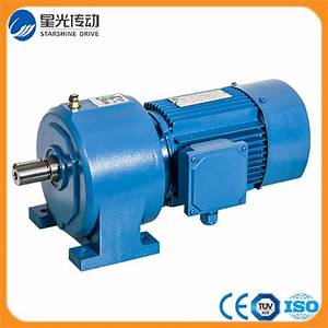 China Output Shaft With Helical Gear Motor Gearbox Ncjt02