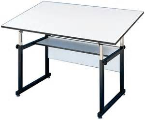 "Alvin 36"" x 48"" WorkMaster Black Base Drafting Table"