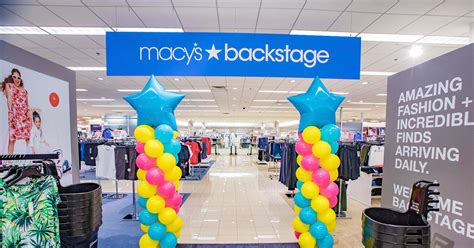 tacoma mall  macys backstage outlet  seattle