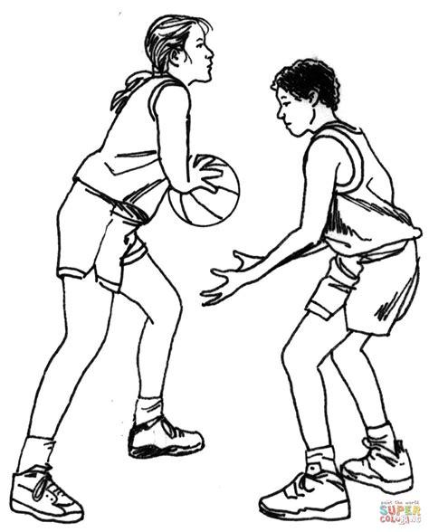 Kolorowanka Koszykarze Kolorowanki Dla Dzieci Do Druku