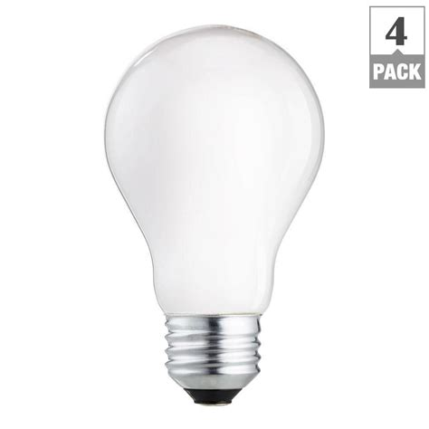 philips 60 watt incandescent a19 light bulb 4